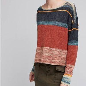 Anthropologie Moth Samedi Linen Pullover Size XS